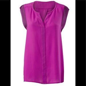 Fuschia CAbi Campo blouse, EUC